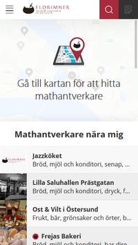 Mathantverk poster
