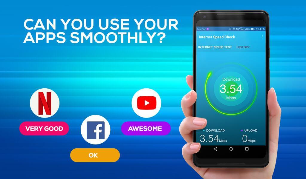 Internet Speed Test, Speedtest, Wifi Speed Test for Android