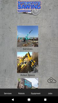 Interstate Sawing Sales App poster