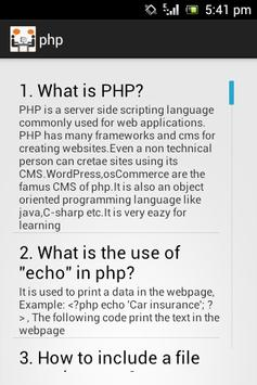 IT Interview Questions apk screenshot