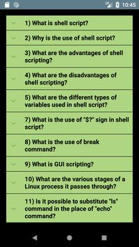 Shell Scripting Interview Questions screenshot 1