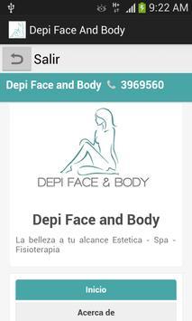Depi Face & Body poster