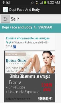 Depi Face & Body apk screenshot