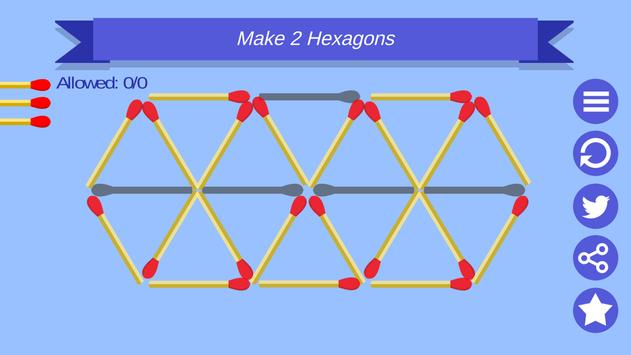 Matchstick Game Puzzle apk screenshot