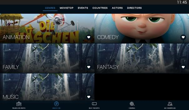 Kinepolis screenshot 11