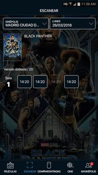Kinepolis screenshot 2