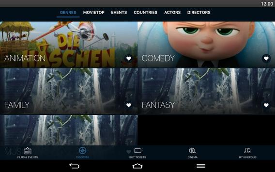 Kinepolis screenshot 6