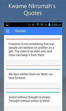 Kwame Nkrumah apk screenshot