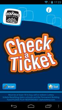 Check-a-Ticket poster