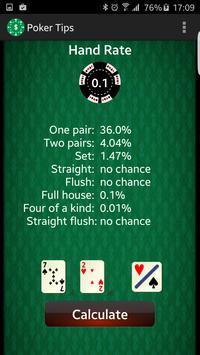 Poker Tips PreFlop apk screenshot