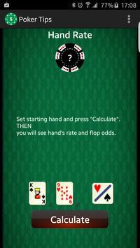 Poker Tips PreFlop poster