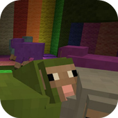 FindtheButton addon for MCPE icon