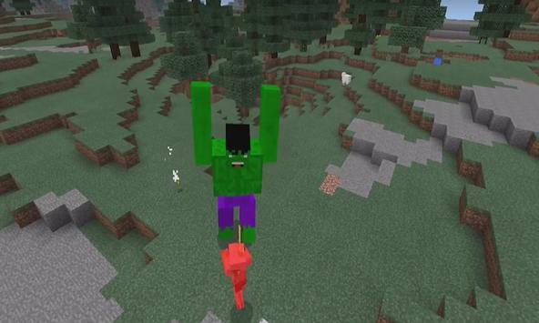 Addon Hulk for MCPE apk screenshot