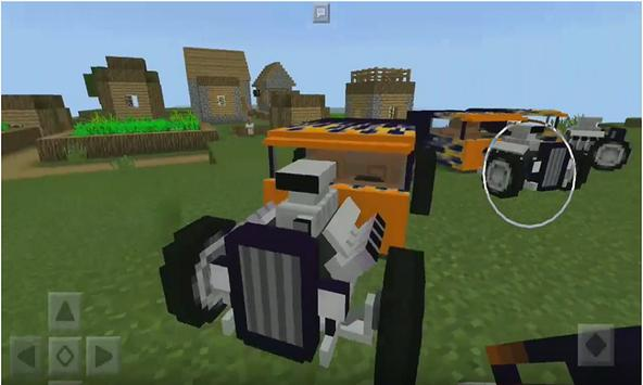 Hot Rod Adddon for MCPE poster