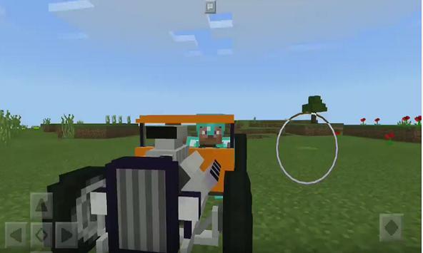 Hot Rod Adddon for MCPE apk screenshot