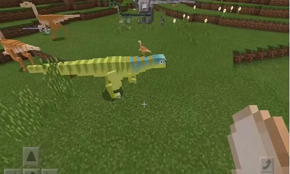 New Addon Juraasic Craft for MCPE apk screenshot