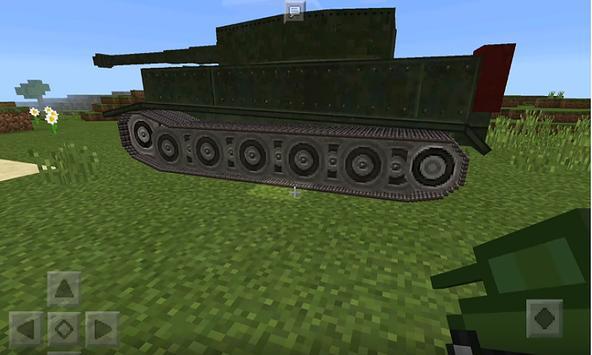 War Tank Mod for MCPE poster