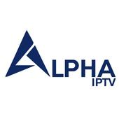 Alpha iptv icon