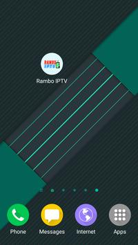 RAMBO IPTV apk screenshot