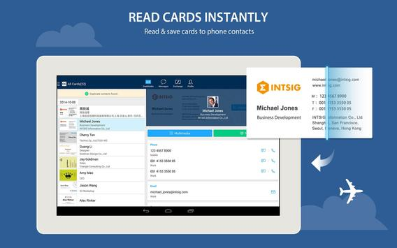 Camcard free business card r apk download free business app for camcard free business card r apk screenshot reheart Gallery