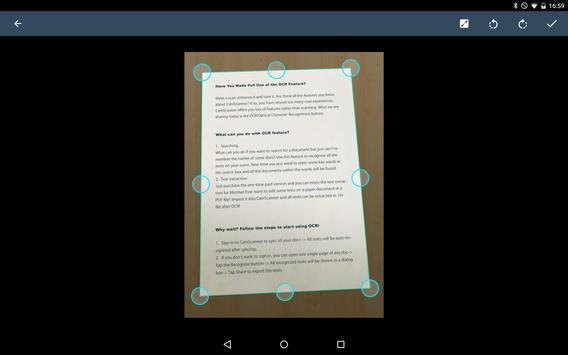 CamScanner captura de pantalla 9