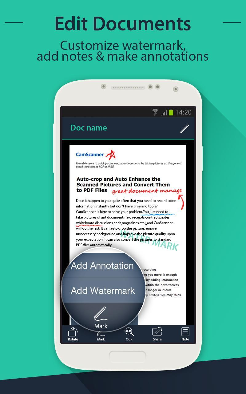 CamScanner HD - Scanner, Fax for Android - APK Download