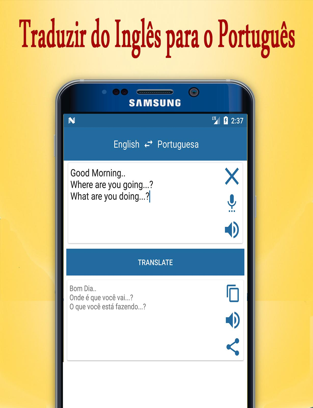 English to Portuguese Translator for Android - APK Download