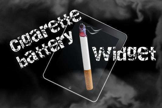 Cigarette Battery Widget poster