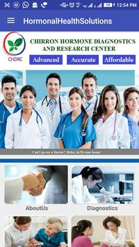 Hormonal Health Solutions poster