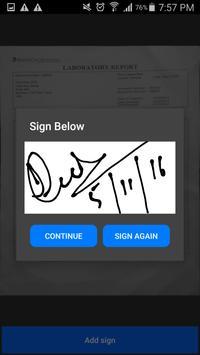 Digital Sign Pdf Scan Document apk screenshot