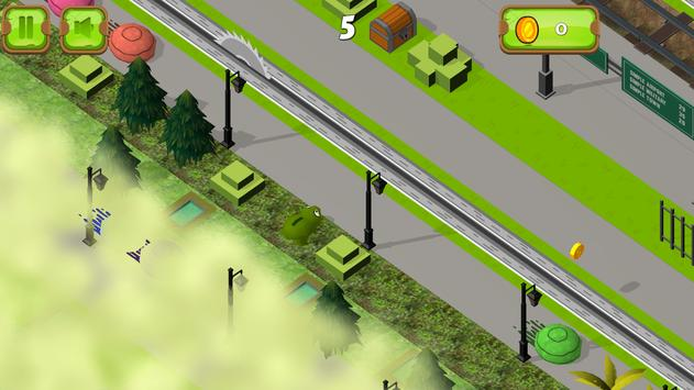 Crossy Frog for Frogger apk screenshot