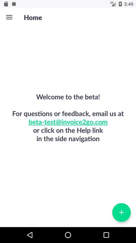 invoice2go beta unreleased poster