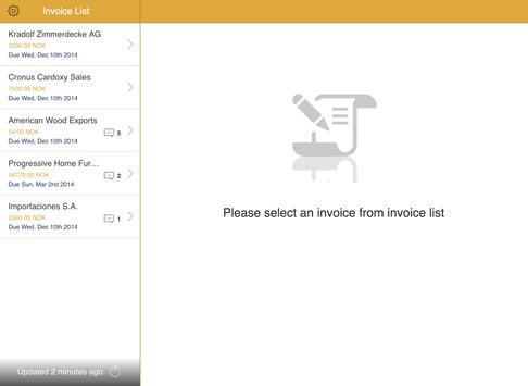 Compello Invoice Approval apk screenshot
