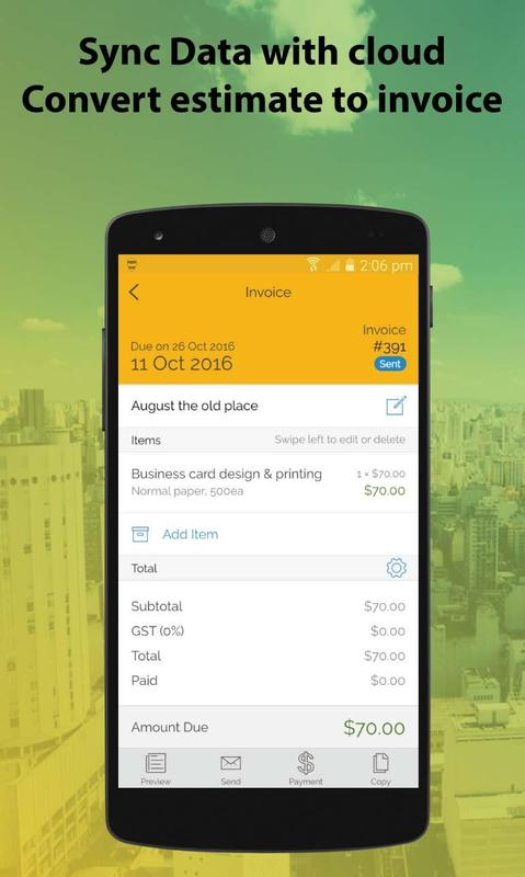Invoice Bee APK Download Free Business APP For Android APKPurecom - Invoice bee