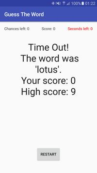 Guess The Word apk screenshot