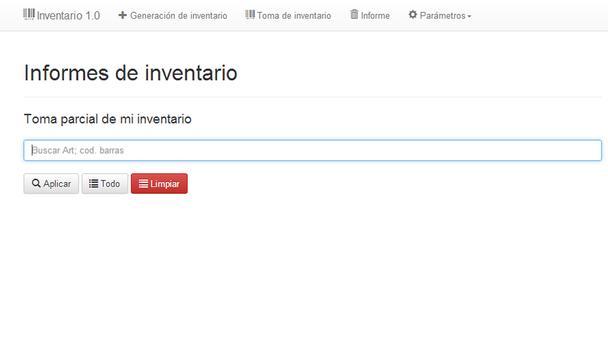 Itris Inventario screenshot 3