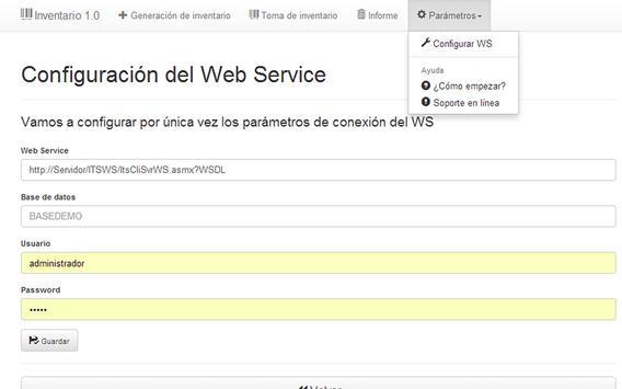 Itris Inventario screenshot 5