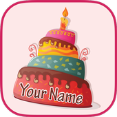 Name On Cake With Photo icon