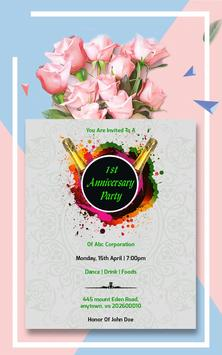 Invitation Card Maker, Business Design Templates screenshot 20