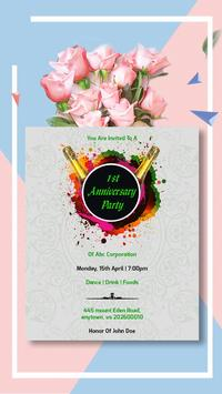 Invitation Card Maker, Business Design Templates screenshot 2