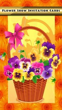 Flower Show Invitation Cards screenshot 8