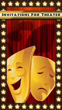 Invitations For Theater poster