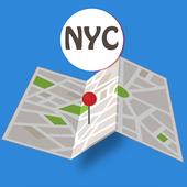 NYC Cross Streets icon