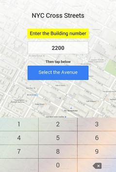 NYC Cross Streets apk screenshot