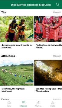 Moc Chau Travel Guide apk screenshot