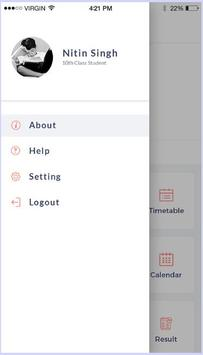 Invispa School App demo screenshot 3