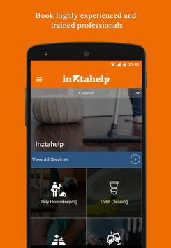 Inztahelp – Home Services Cartaz