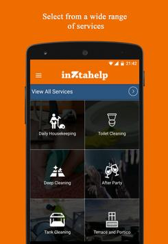 Inztahelp – Home Services apk スクリーンショット