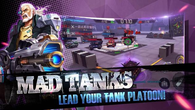 Mad Tanks poster