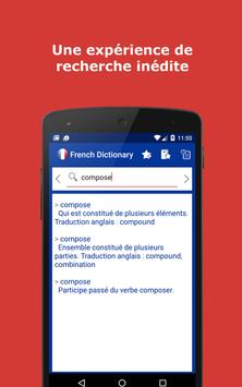 French Explanatory Dictionary. Words definitions screenshot 1